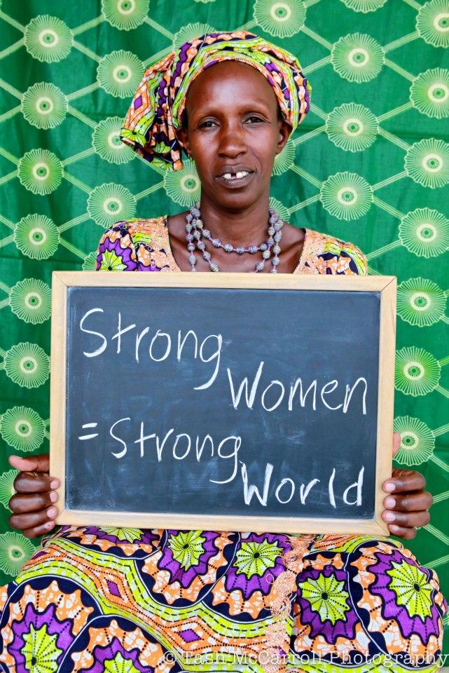 strong women strong world